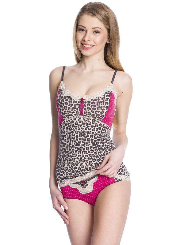 Vive Maria Candy Leo Set lightpink/leo allover – Bild 2