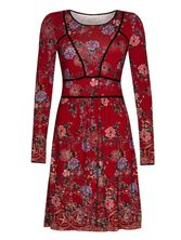 Vive Maria Boheme De Luxe Dress red allover – Bild 0