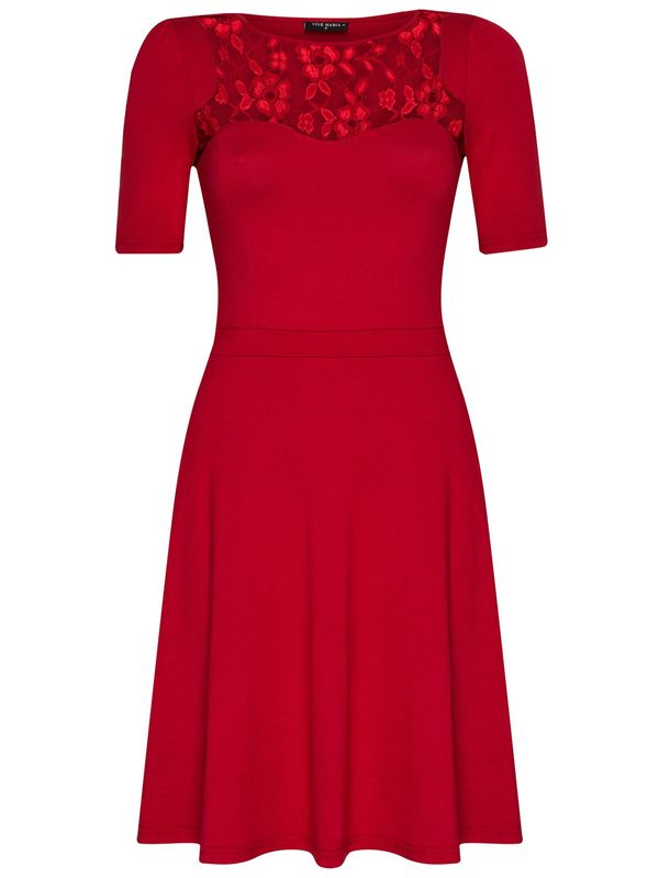 Vive Maria Red Boheme Dress Kleid rot – Bild 0