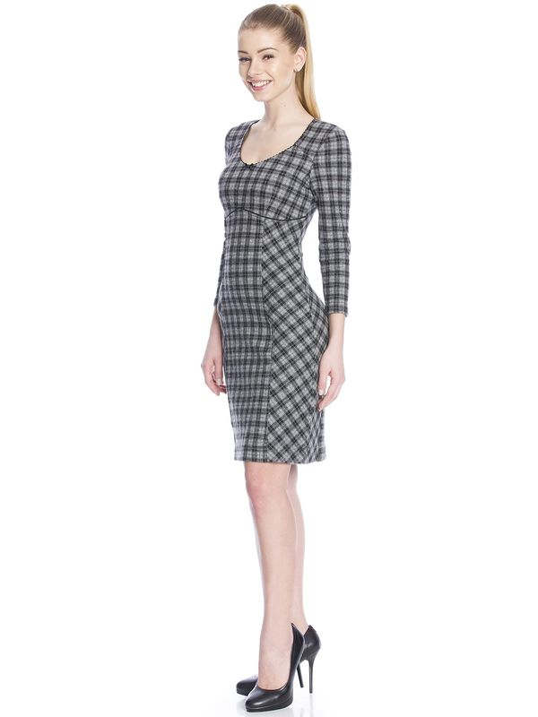 Vive Maria London UP-Town Dress Kleid grau – Bild 2