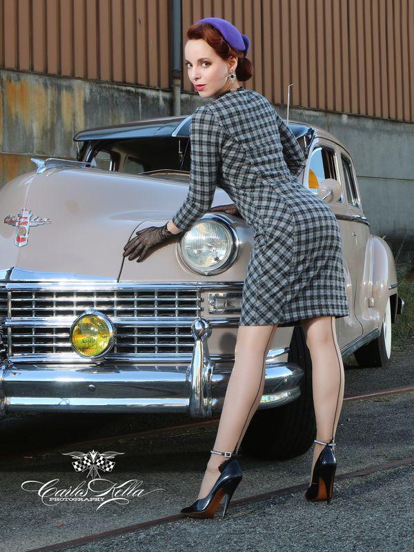 Vive Maria London UP-Town Dress Kleid grau – Bild 6
