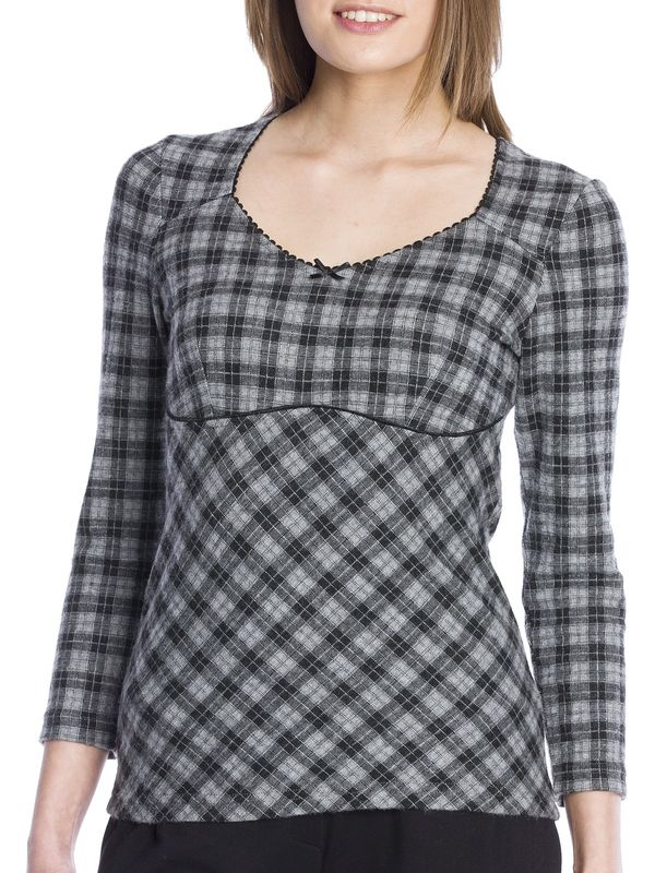 Vive Maria London Girl Shirt gray – Bild 5