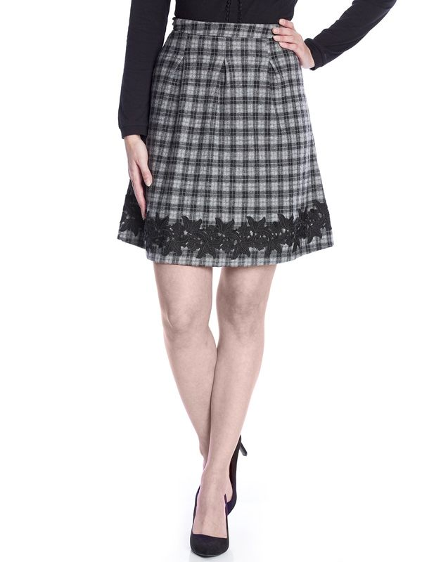 Vive Maria London Girl Skirt gray – Bild 1