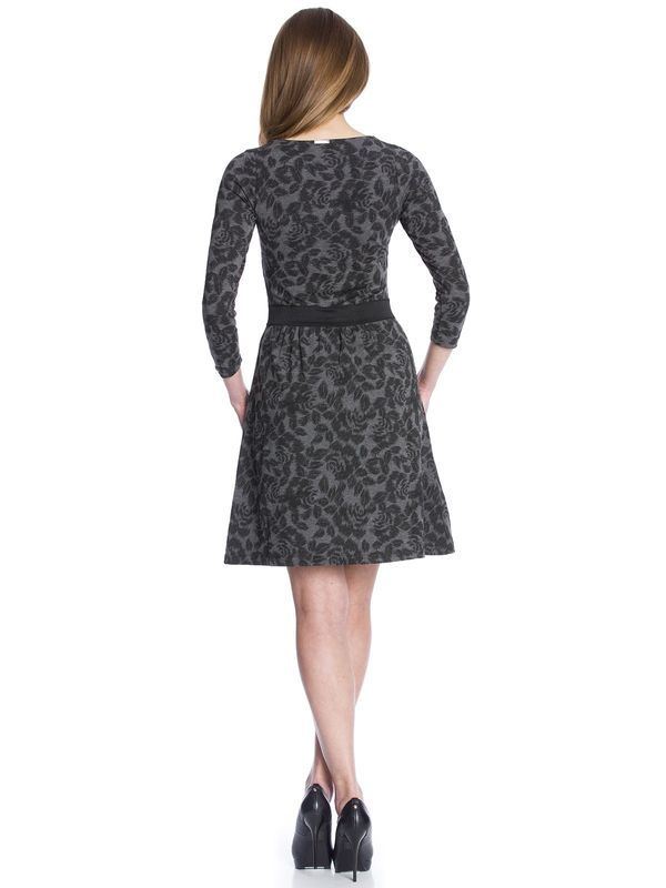 Vive Maria Black Flowers Dress gray allover – Bild 4