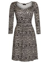 Vive Maria Leo Pin-Up Kleid leopard allover-Druck – Bild 0
