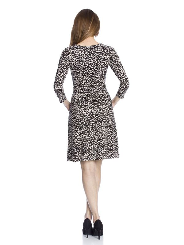 Vive Maria Leo Pin-Up Kleid leopard allover-Druck – Bild 3