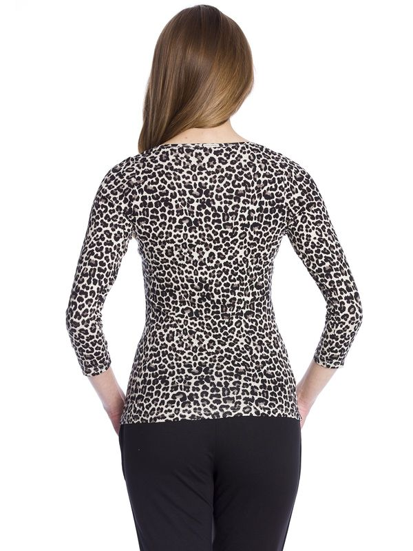 Vive Maria Leo Pin-UP Shirt leopard allover-Druck – Bild 3