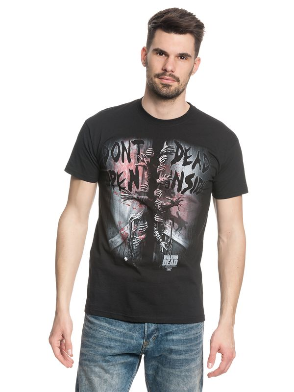 The Walking Dead Dead inside male Shirt black – Bild 2
