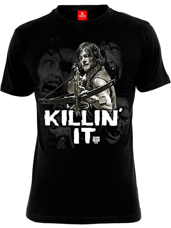 The Walking Dead Killin it male Shirt black – Bild 0