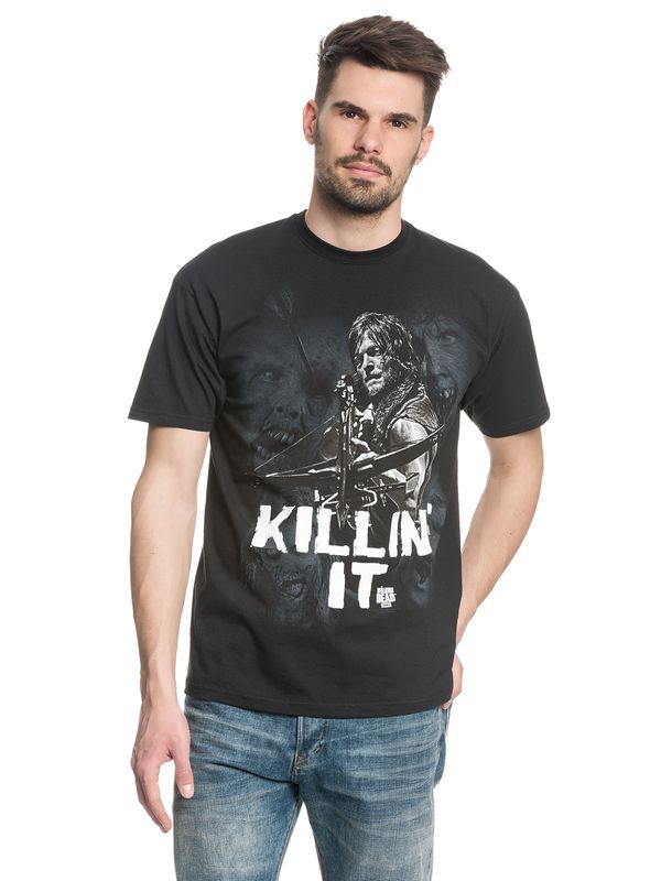 The Walking Dead Killin it Männer T-Shirt schwarz – Bild 1
