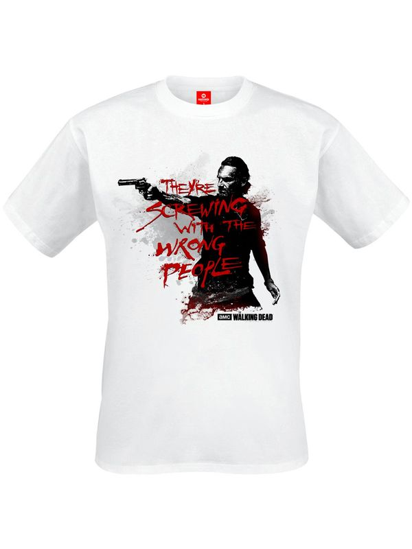 The Walking Dead Wrong People male Shirt white – Bild 1