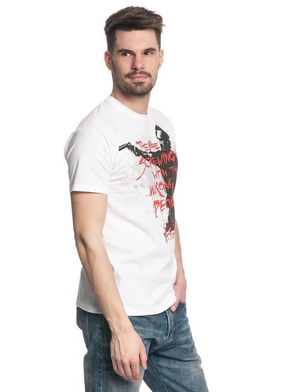 The Walking Dead Wrong People male Shirt white – Bild 4