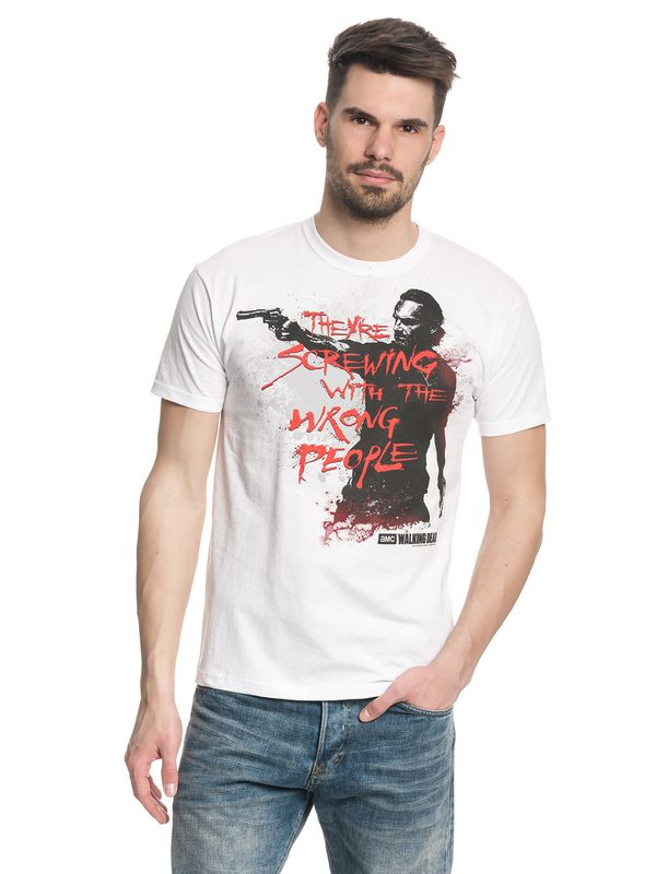The Walking Dead Wrong People Männer T-Shirt weiss – Bild 1