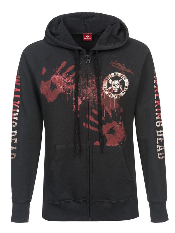 The Walking Dead Kill or Die female zipper hoodie, Frauen Kapuzenjacke – Bild 0