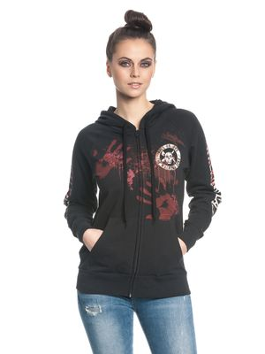 The Walking Dead Kill or Die female zipper hoodie, Frauen Kapuzenjacke – Bild 1