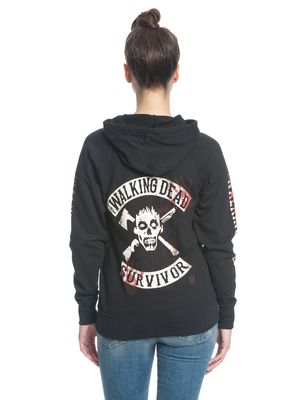 The Walking Dead Kill or Die female zipper hoodie, Frauen Kapuzenjacke – Bild 3