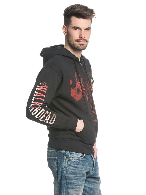 The Walking Dead Kill or Die male zipper hoodie black – Bild 3