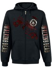 The Walking Dead Kill or Die male zipper hoodie black – Bild 1