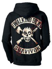 The Walking Dead Kill or Die male zipper hoodie black – Bild 2