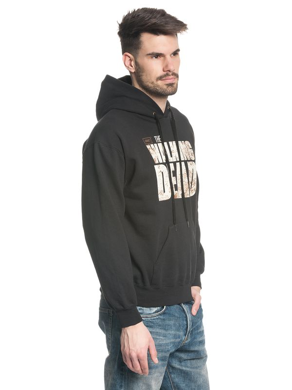 The Walking Dead Logo male hoodie black – Bild 3