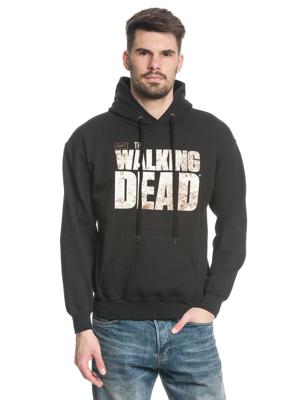 The Walking Dead Logo male hoodie black – Bild 0
