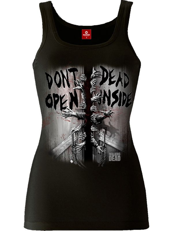 The Walking Dead Don't Open female Top black – Bild 1