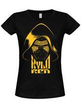 Star Wars Kylo Ren Girly Tee (Black)