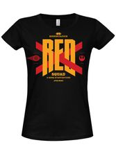 Star Wars Red Squad Girly Tee (Black)