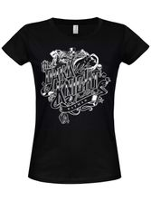 Hybris Batman Inked Dark Knight Girly Tee