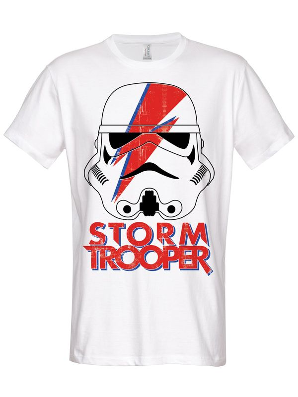 Hybris Star Wars Trooping Sane T-Shirt (White)