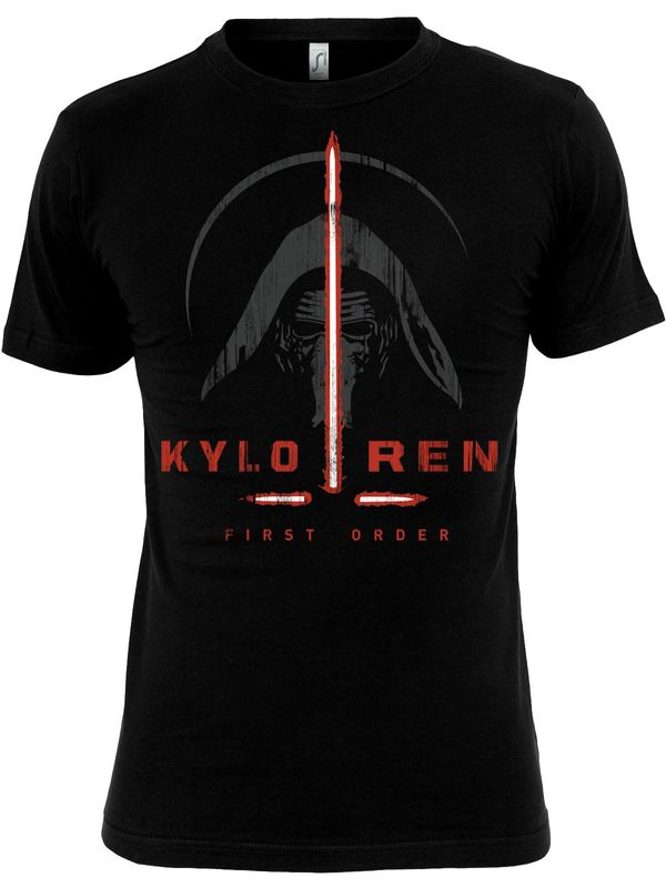 Star Wars Kylo Ren First Order T-Shirt (Black)