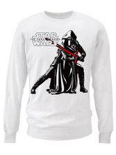 Star Wars Kylo Ren Pose Sweatshirt (White)