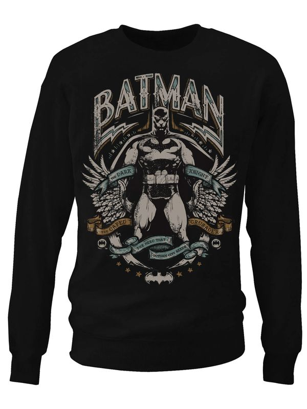 Batman Dark Knight Crusader Sweatshirt (Black)