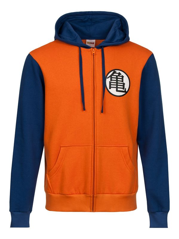 Dragon Ball Z Hooded Zip- Jacket male orange/blue – Bild 0