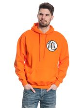 Dragonball Dragon Ball Z Hooded Sweater male orange – Bild 1