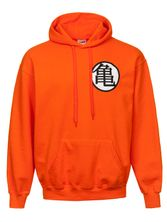 Dragonball Dragon Ball Z Hooded Sweater male orange – Bild 0