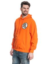Dragonball Dragon Ball Z Hooded Sweater male orange – Bild 2
