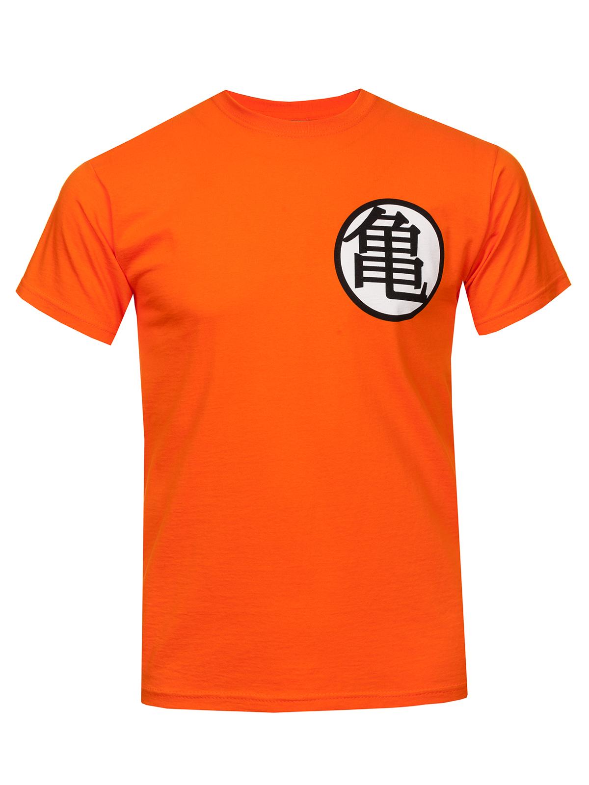 Dragonball Dragon Ball Z T-Shirt male orange – Bild 1 ...