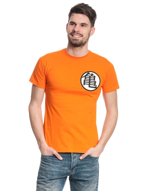 Dragonball Dragon Ball Z T-Shirt male orange – Bild 2