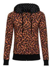 Pussy Deluxe Leo Dotties Reversible Jacket black/leo – Bild 0