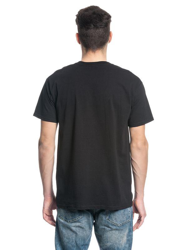 The Walking Dead Circle Names Logo Male T-Shirt black – Bild 3