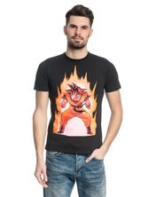 Dragonball Dragon Ball Z Songoku On Fire Male T-Shirt black – Bild 1