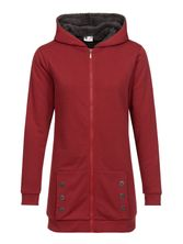 Pussy DeluxeTeddy Fleece Coat deep red – Bild 0