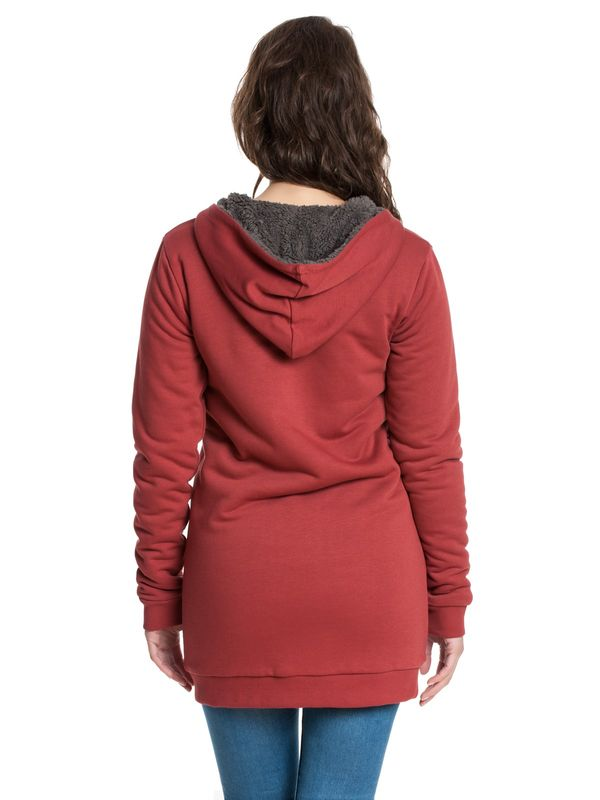 Pussy DeluxeTeddy Fleece Coat deep red – Bild 2