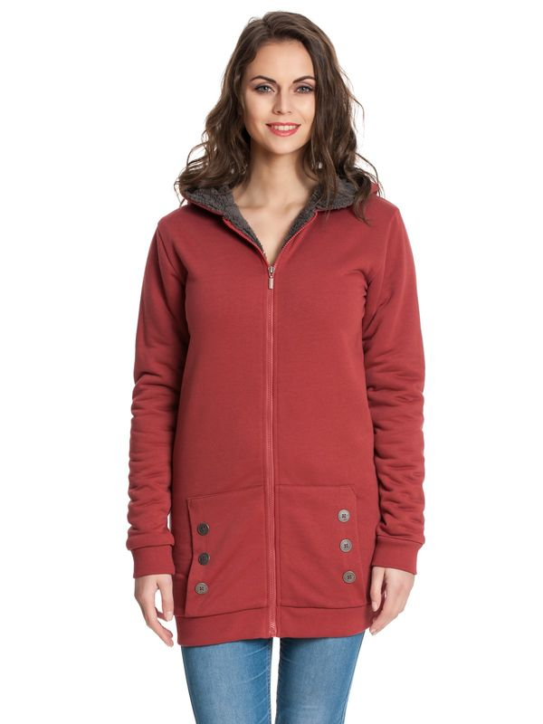 Pussy DeluxeTeddy Fleece Coat deep red – Bild 1