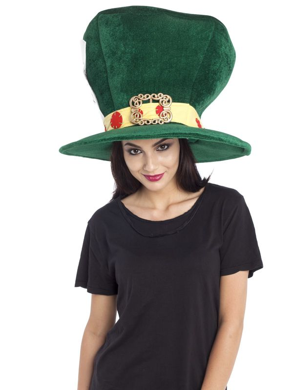 Alice in Wonderland Madhatter Hat green – Bild 2