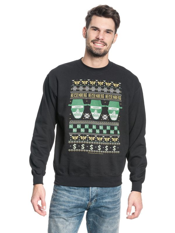 Breaking Bad Heisenberg Knit Sweater schwarz – Bild 1
