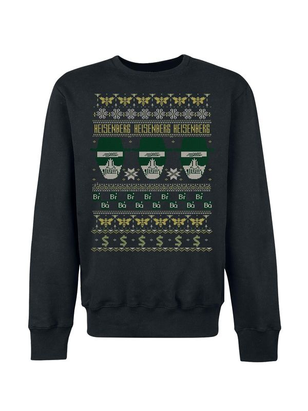 Breaking Bad Heisenberg Knit Sweater schwarz – Bild 0