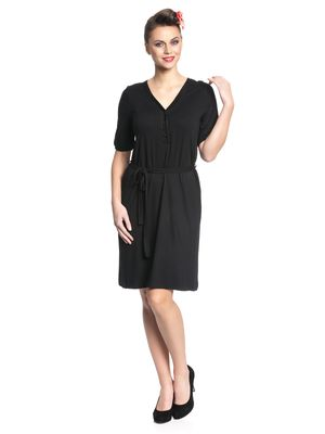 Pussy Deluxe Black Stories Dress Kleid schwarz – Bild 2
