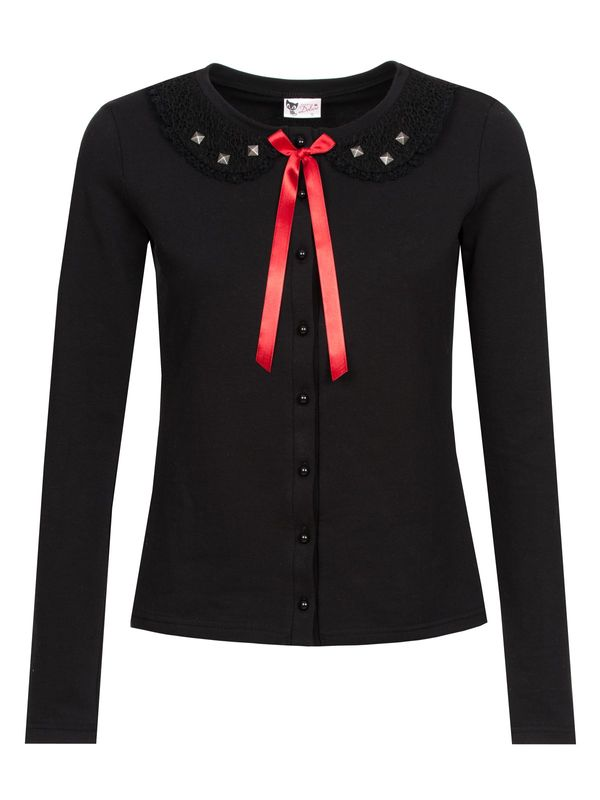 Pussy Deluxe Black Stories Sweet Collar Jacket black view